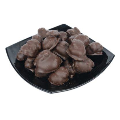 Абрикос c грецким орехом в шоколаде