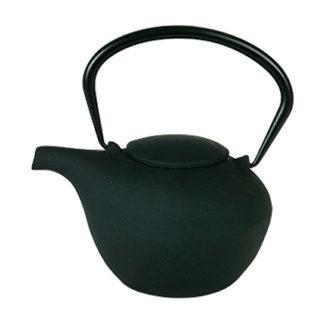 "Чайник чугунный ""Гонконг"" сито, красный 800мл"