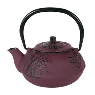 """Чайник чугунный """"Пекин"""" 600мл фиолетовый"""