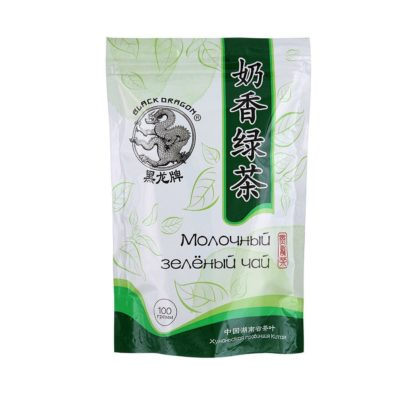 Молочный зеленый чай 100г